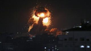 Μπαράζ ισραηλινών βομβαρδισμών στη Λωρίδα της Γάζας