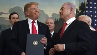Υψίπεδα του Γκολάν: O Τραμπ αναγνώρισε την ισραηλινή κυριαρχία – Η αντίδραση της Μόσχας (pics&vid)