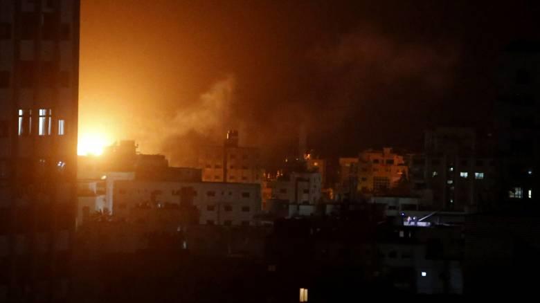 Γάζα: Κατεδαφίστηκαν τα γραφεία του αρχηγού της Χαμάς από τους ισραηλινούς βομβαρδισμούς