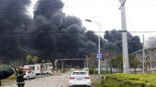 Τραγωδία στην Κίνα: Στους 78 οι νεκροί από την έκρηξη στο εργοστάσιο χημικών