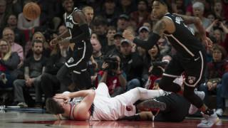 Φρικιαστικός τραυματισμός του μπασκετμπολίστα Γιουσούφ Νούρκιτς