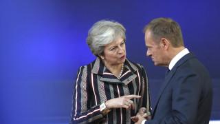 Έκκληση Τουσκ στο Ευρωκοινοβούλιο για μακρά παράταση του Brexit