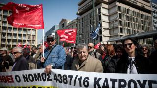 Παναττικό συλλαλητήριο συνταξιούχων: Ζητούν άμεση καταβολή του δώρου Πάσχα