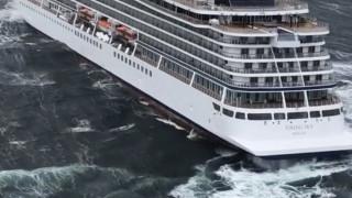 Νορβηγία: Οι μηχανές του κρουαζιερόπλοιου σταμάτησαν επειδή δεν είχαν... λιπαντικό