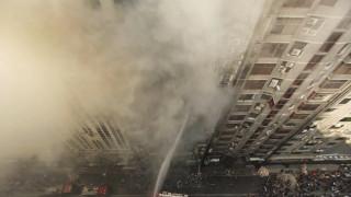 Μπανγκλαντές: Πυρκαγιά σε κτήριο 22 ορόφων - Πολλοί εγκλωβισμένοι