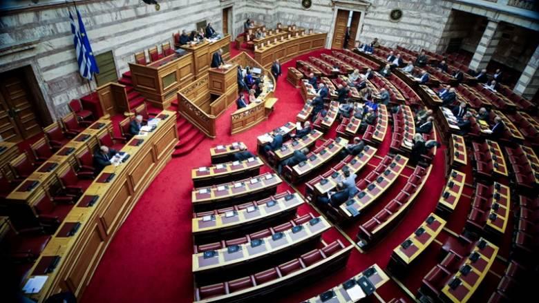 «Βροχή» τροπολογιών στη Βουλή