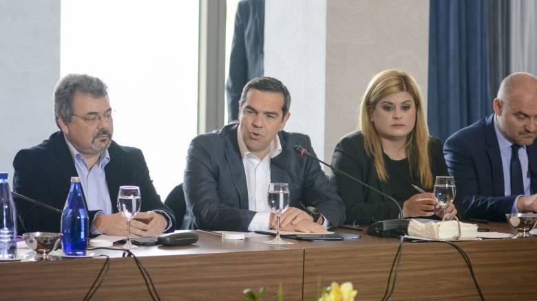 Τσίπρας: Η ελληνική επιχειρηματικότητα να έχει ηγεμονικό ρόλο στην ανάπτυξη της Β. Μακεδονίας