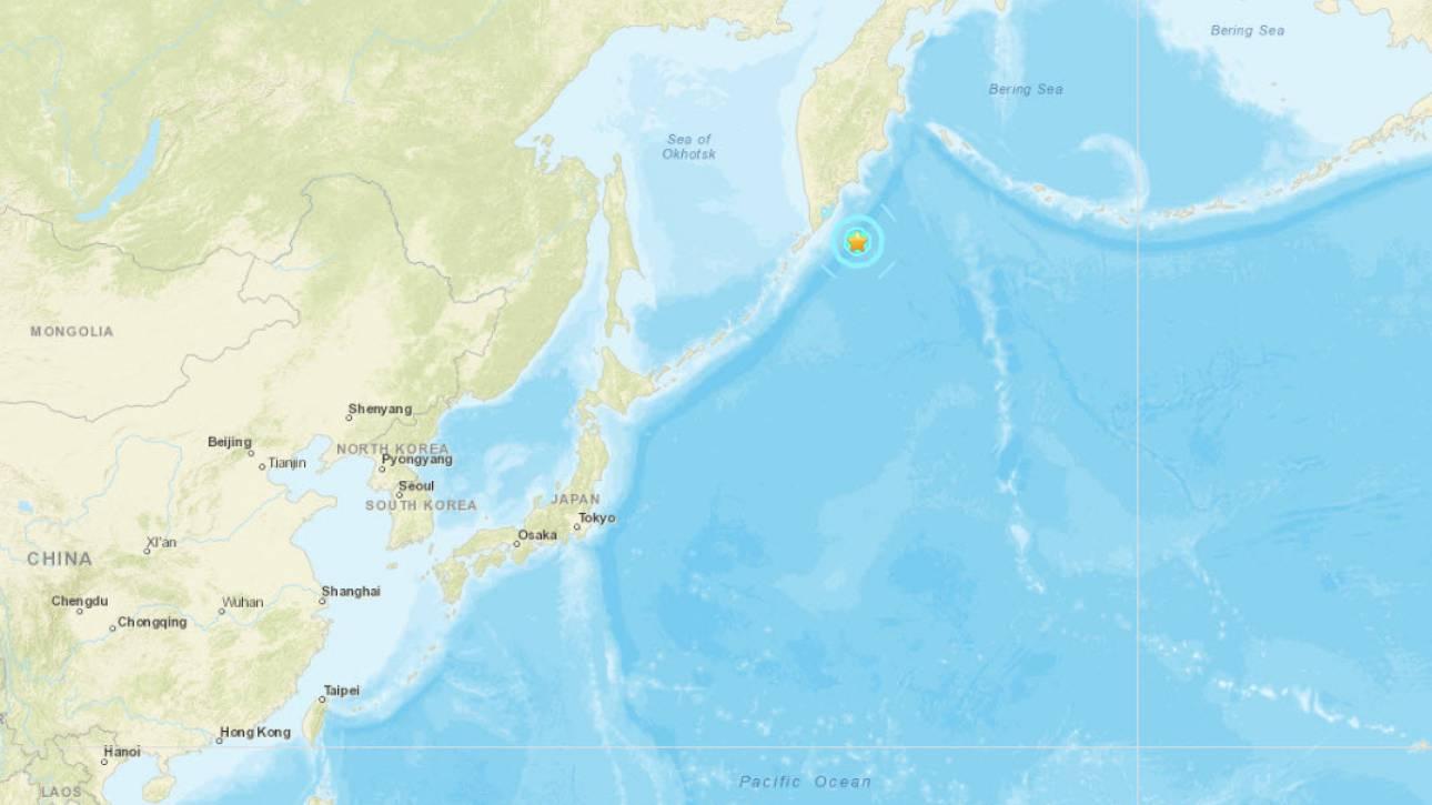 Ρωσία: Σεισμός 6,1 Ρίχτερ στις Κουρίλες Νήσους