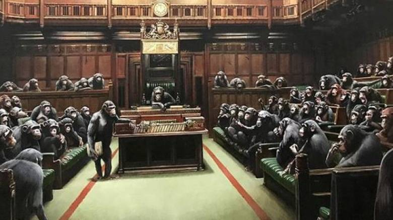 Το «προφητικό» έργο του Banksy για το Brexit