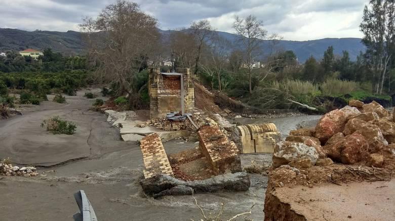 Καιρός: Πολλά τα προβλήματα στην Κρήτη από την κακοκαιρία