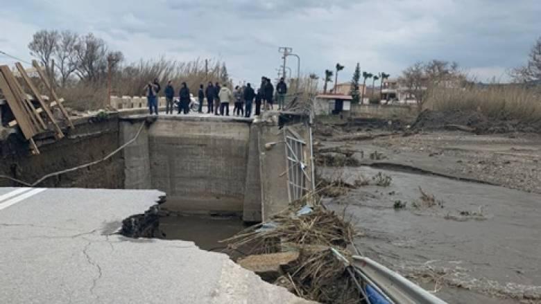 Κακοκαιρία: Πολύ μεγάλα ύψη βροχής στην Κρήτη