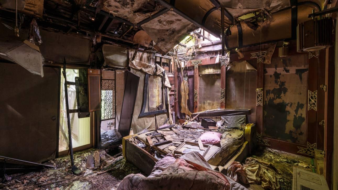 Η γοητεία της εγκατάλειψης: Ο Romain Veillon φωτογραφίζει όσα αφήνουν πίσω τους οι άνθρωποι