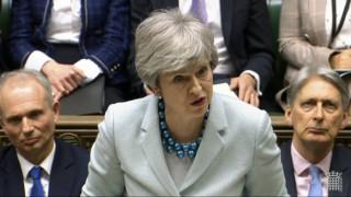 Brexit: Τρίτη ήττα για τη Μέι - Απορρίφθηκε ξανά η συμφωνία της