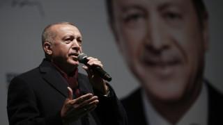Επιμένει ο Ερντογάν: Έχουμε σχέδια για να κάνουμε την Αγία Σοφία τζαμί
