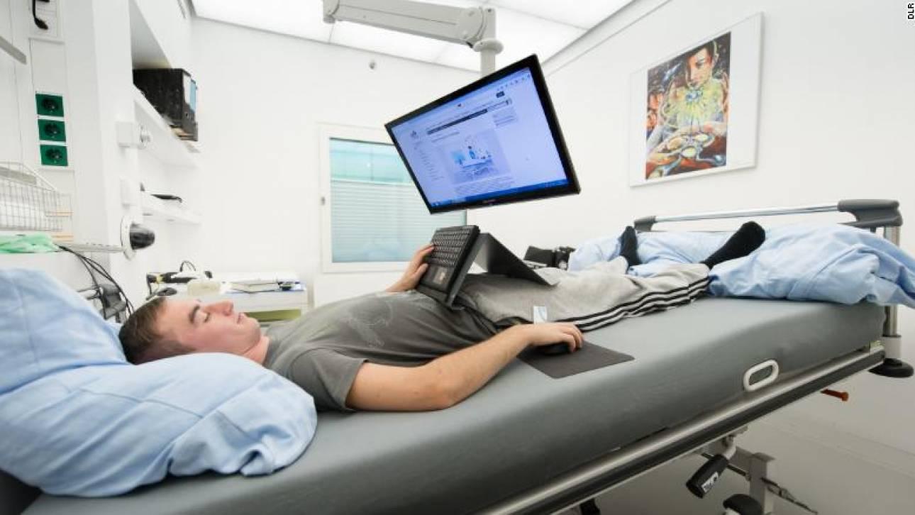 Η NASA δίνει 16.500 ευρώ σε εθελοντές για να μείνουν ξαπλωμένοι για 60 ημέρες