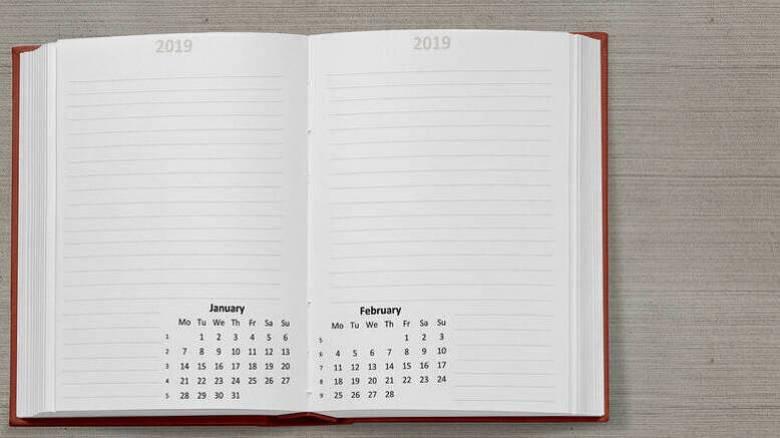 Αργίες 2019: Δείτε όλα τα τριήμερα του έτους