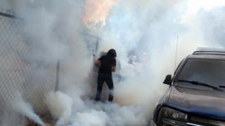 Βενεζουέλα: Με δακρυγόνα διέλυσαν διαδήλωση της αντιπολίτευσης - Στο σκοτάδι πολλές περιοχές