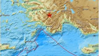 Σεισμός στην Τουρκία έγινε αισθητός και στα Δωδεκάνησα