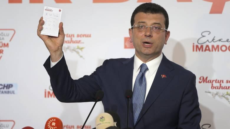 Εκλογές Τουρκία 2019 - Ιμάμογλου: Εγώ είμαι ο νικητής της Κωνσταντινούπολης