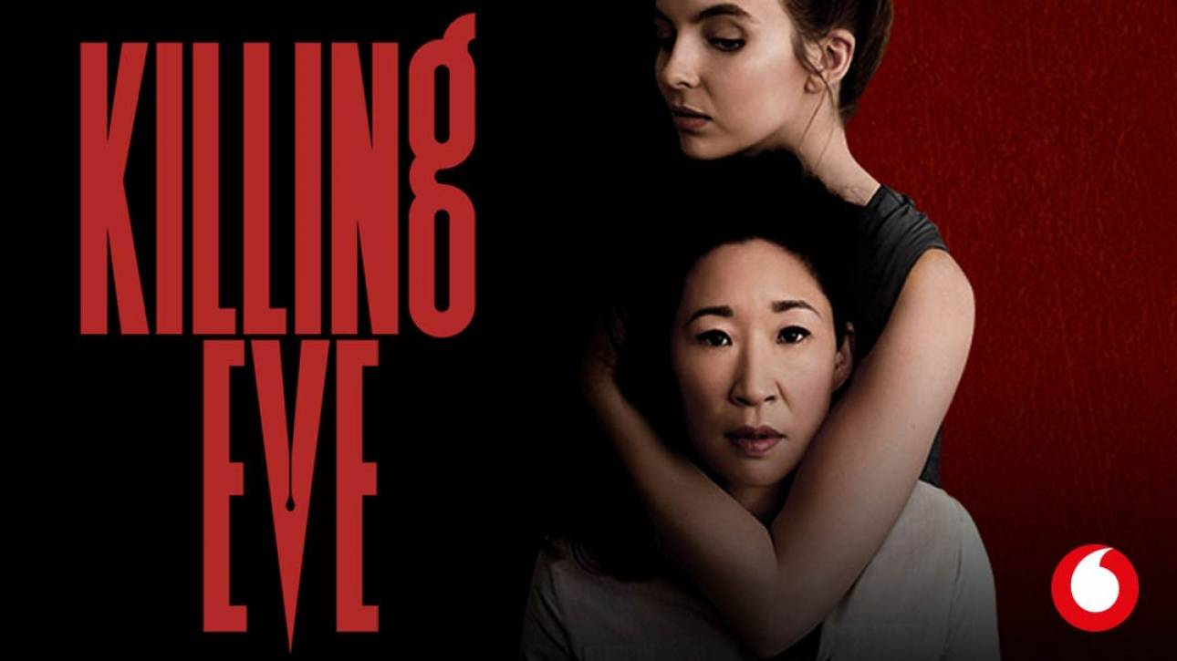 Killing Eve: Η καλύτερη σειρά του 2018, αποκλειστικά στο Vodafone TV και με νέα σεζόν!
