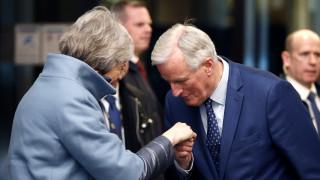 Μπαρνιέ: Πιο πιθανό από ποτέ ένα Brexit χωρίς συμφωνία