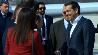 Στα Σκόπια ο Αλέξης Τσίπρας: Οφείλουμε να δείξουμε ότι οι λαοί μας έχουν μόνο να κερδίσουν