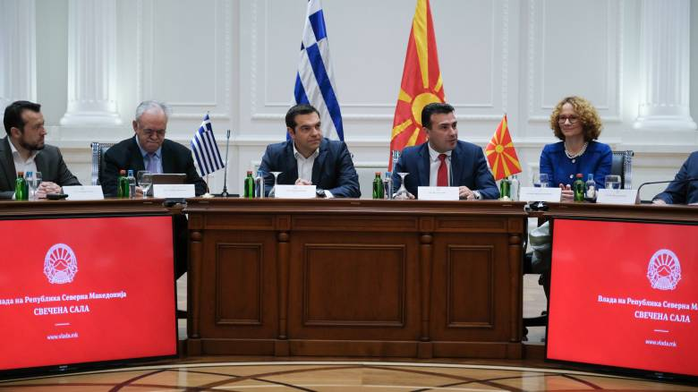 Τσίπρας: Η Ελλάδα θα σταθεί αρωγός στην προσπάθεια της Βόρειας Μακεδονίας να ενταχθεί στην Ε.Ε.