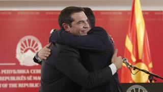 «Ιστορική η επίσκεψη Τσίπρα στη Βόρεια Μακεδονία»: Τι γράφει ο διεθνής Τύπος