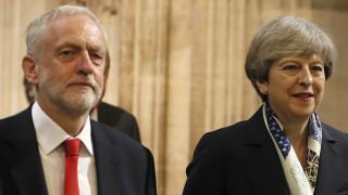 Brexit: Ο Κόρμπιν αποδέχεται την πρόταση της Μέι για διάλογο