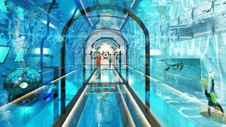 Πισίνα για γκίνες στην Πολωνία: Βουτιά στα 45 μέτρα
