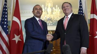Αντιπαράθεση ΗΠΑ – Άγκυρας: Τα τέσσερα θέματα που έθεσε ο Πομπέο στον Τσαβούσογλου