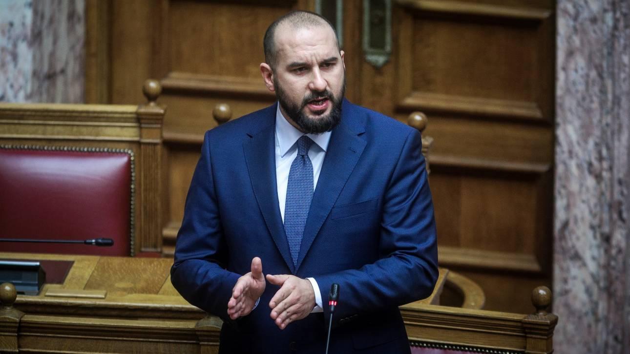 Τζανακόπουλος στη Βουλή για υπόθεση Πετσίτη: Πρόκειται περί αντιπερισπασμού