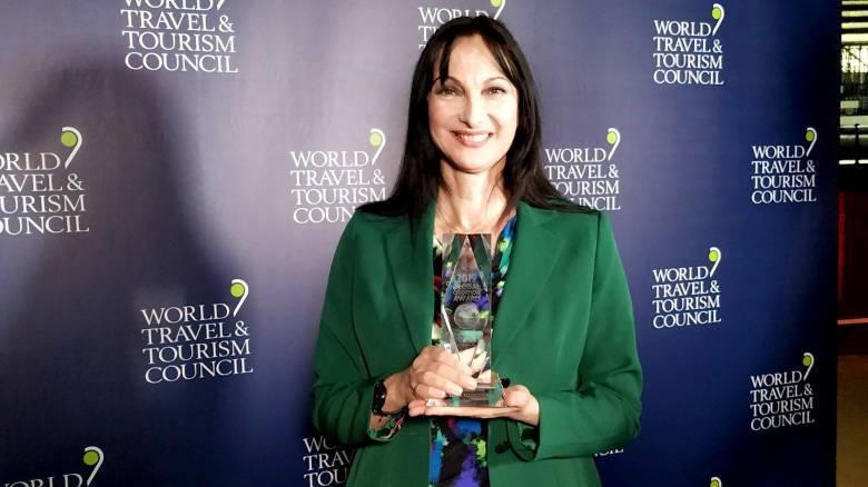 Κουντουρά: Βραβεύτηκε στην Παγκόσμια Συνδιάσκεψη του WTTC με το βραβείο «Global Champion 2019»