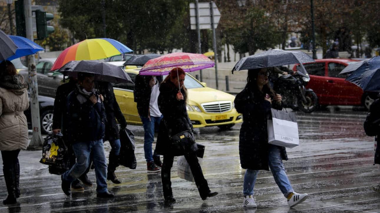 Καιρός: Νέα επιδείνωση με βροχές, καταιγίδες και ισχυρούς ανέμους