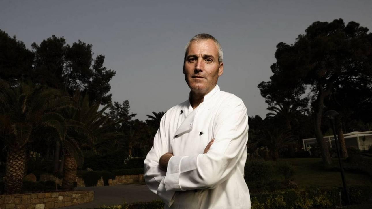 Πέθανε πολυβραβευμένος Έλληνας σεφ