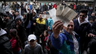 Σταθμός Λαρίσης: Κατάληψη από μετανάστες – Δεν εκτελούνται τα δρομολόγια