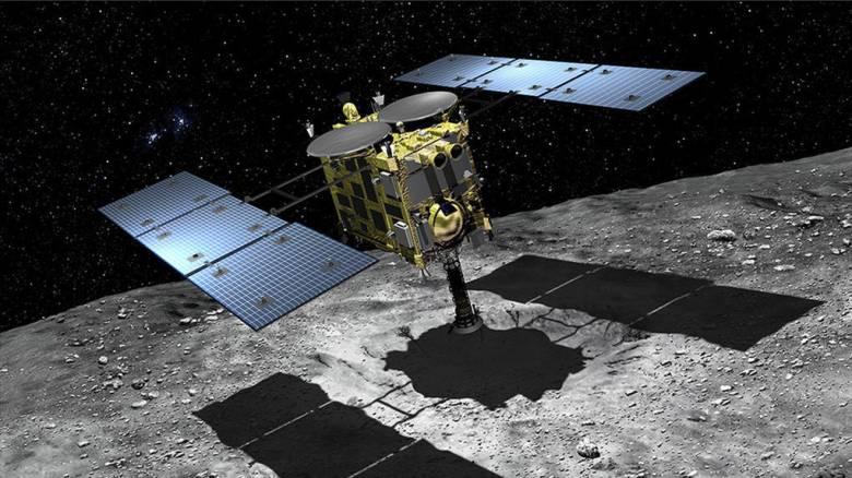 Το Hayabusa «βομβάρδισε» τον αστεροειδή Ριούγκου