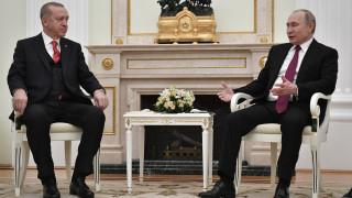 Συνάντηση Πούτιν - Ερντογάν: Με τετ-α-τετ για «πλέον ευαίσθητα θέματα» θα ξεκινήσουν οι συνομιλίες