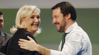 Ευρωεκλογές 2019: Λεπέν και Σαλβίνι ενώνουν τις δυνάμεις τους