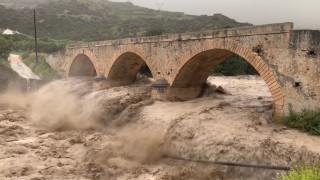 Κακοκαιρία Κρήτη: Σε κίνδυνο γέφυρα-μνημείο 135 ετών