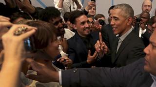 Γερμανία: Κάλεσμα Ομπάμα σε νέους ακτιβιστές να αλλάξουν τον κόσμο
