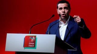 Νέο κοινωνικό συμβόλαιο για την Ευρώπη σε επτά άξονες παρουσίασε ο Αλέξης Τσίπρας