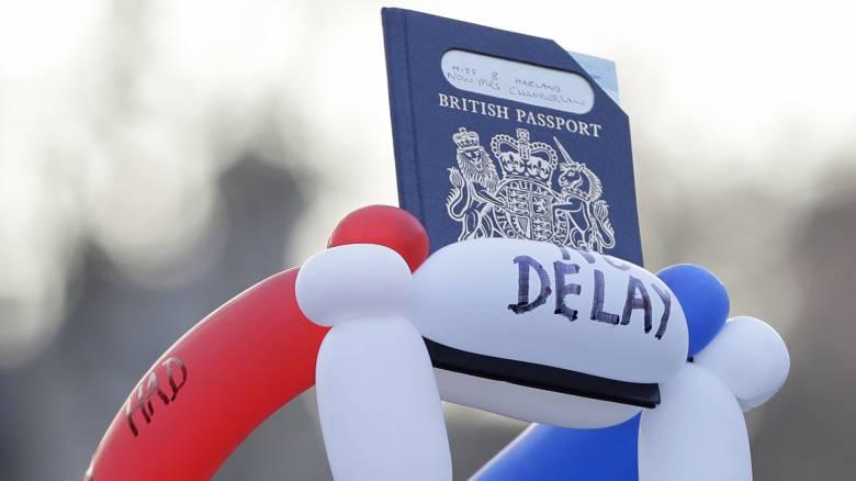 Brexit: Το Λονδίνο άρχισε να εκδίδει διαβατήρια χωρίς την ένδειξη «Ευρωπαϊκή Ένωση»