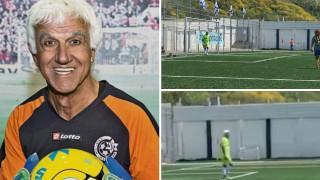 Τερματοφύλακας... 73 ετών: Μπήκε στο βιβλίο των ρεκόρ Γκίνες