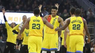 NBA: Εκπληκτικός ο Αντετοκούνμπο κόντρα στους Χοκς