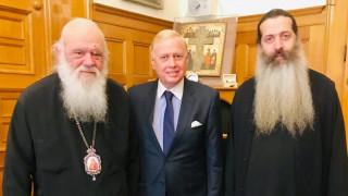 Ο Νικόλαος Μακρόπουλος υποψήφιος με τον συνδυασμό «ΑΘΗΝΑ ΨΗΛΑ» στην Αρχιεπισκοπή Αθηνών