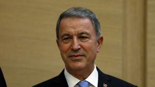 Ακάρ: Η Τουρκία θα αμυνθεί ακόμα και αν πάνε να της πάρουν ένα βότσαλο