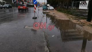 Κλειστό τμήμα της Πειραιώς λόγω βροχόπτωσης – Κυκλοφοριακό «κομφούζιο» στην Αθήνα
