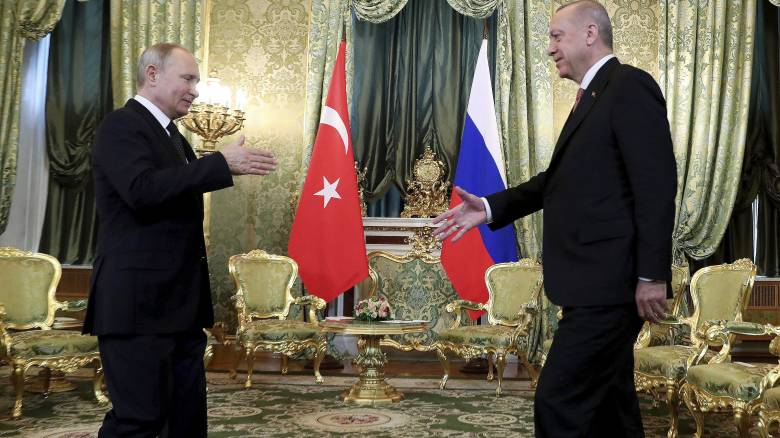 Συνάντηση Πούτιν - Ερντογάν: Προτεραιότητα για Μόσχα και Άγκυρα οι S-400