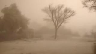 Ινδία: Αμμοθύελλα «καταπίνει» μια ολόκληρη πόλη